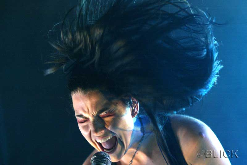 Evanescence: creators of the most powerful hair styling gel known to man.